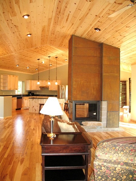 bbf37174f9 Living Room to the Kitchen · Living Room Cabin ...