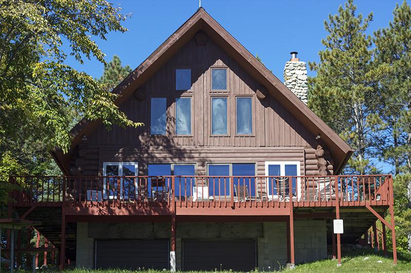 Cabin 9, A-Frame Log Cabin.